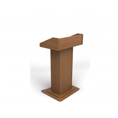 Αναλόγιο ομιλητή ξύλινο με 2 ράφια RM711